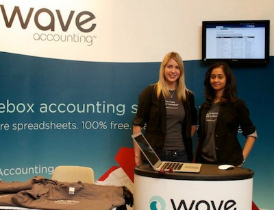 Kruti and Sara representing Wave