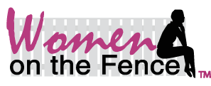 Women on the Fence Logo
