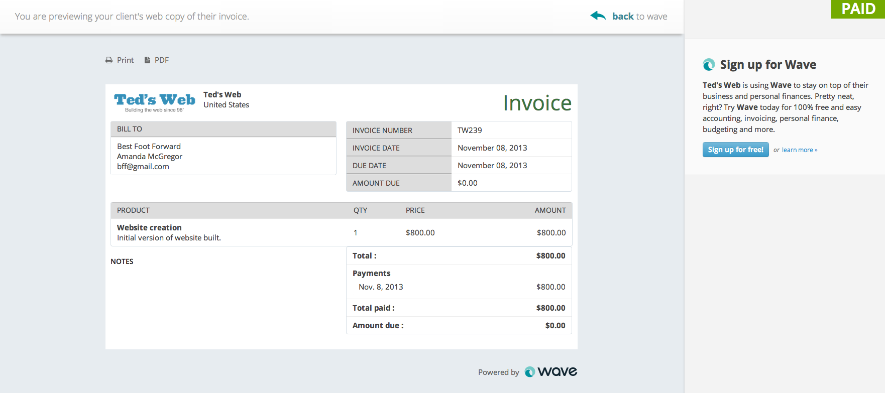 Tax Invoices Template Invoicing By Wave Covers The Full Invoicing Cycle Commercial Invoice Fed Ex Excel with Free Invoice Templates Pdf Excel Before You Send Your Invoice Proventure Invoices Pdf