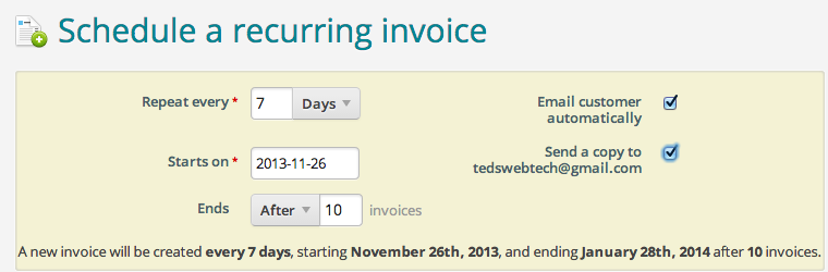 Invoice Templaye Invoicing By Wave Covers The Full Invoicing Cycle Receipt App Android Word with Dmv Receipt Excel If You Have Repeat Orders That Happen On A Regular Basis Set Your Invoices  As Recurring So Theyll Send To Your Customers Automatically Neat Receipts Customer Service Phone Number Excel
