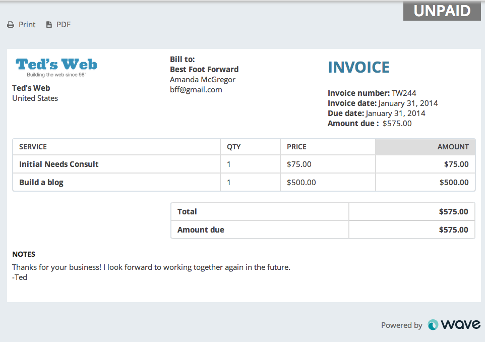 have you customized your invoices yet